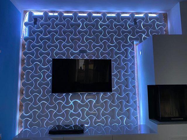 3D Wanddesign Spline
