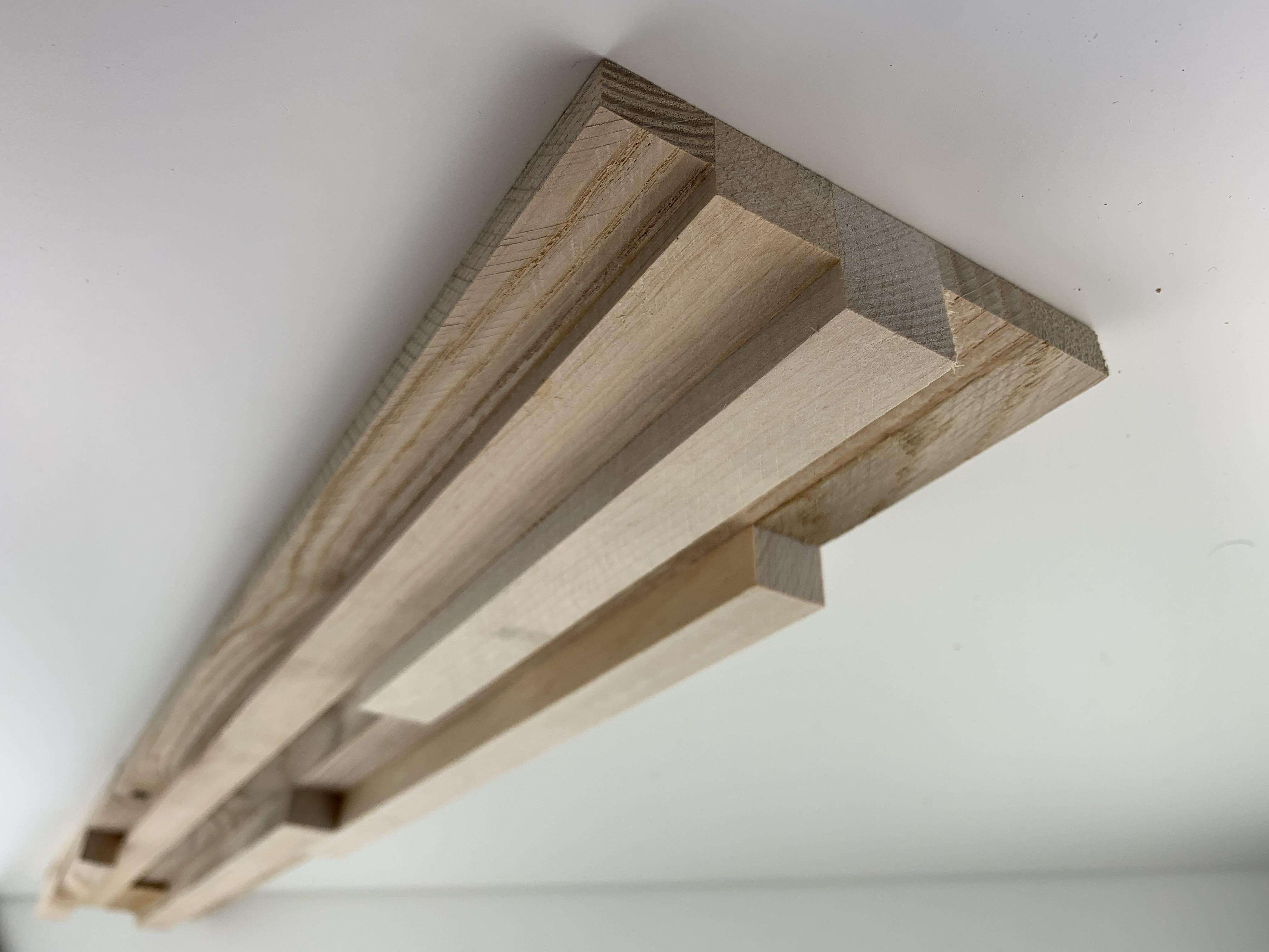 Holz-Paneel Fractus